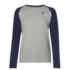 Help for Heroes Grey Marl Raglan T-Shirt