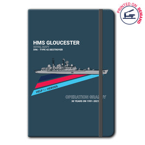 Help for Heroes | Destroyer Notebook