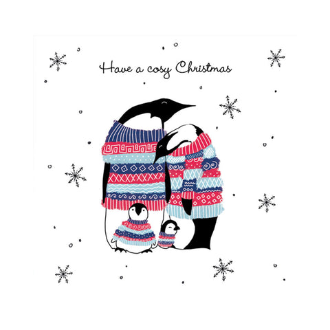 Help for Heroes Penguin Christmas card