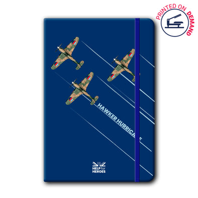 Help for Heroes Hawker Hurricane Notebook