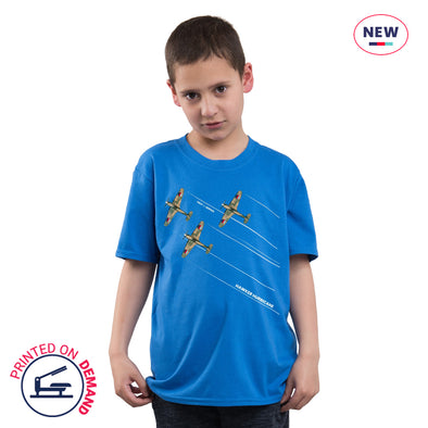 Children's Hurricanes Royal Blue T-Shirt