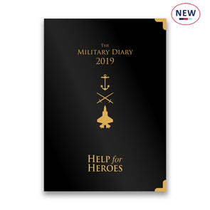 Help for Heroes 2019 A4 Military Diary