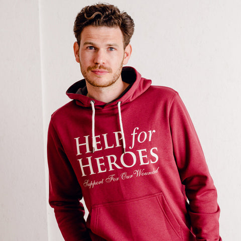 Help for Heroes Apple Red Ardley Hoody