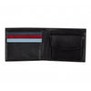 Help for Heroes Black Leather Bifold Wallet with Crest