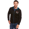Black Tornado Zipped Hoody
