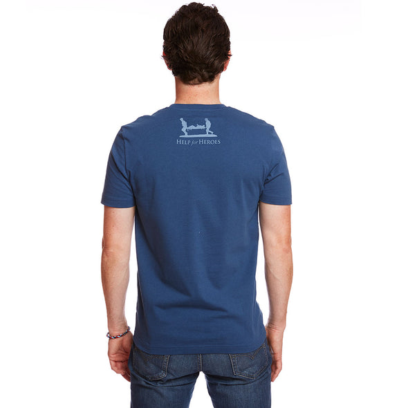 Help for Heroes Ensign Blue Bulldog T-shirt