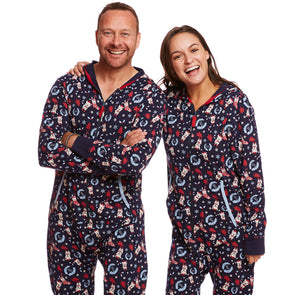 Tri colour Unisex Bulldog Onesie