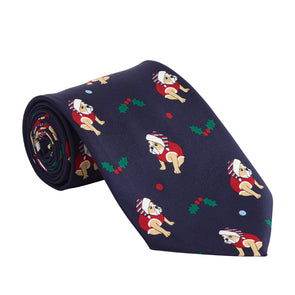 Help for Heroes Christmas Bulldog Tie