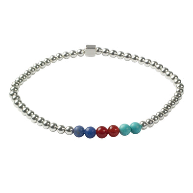 Help for Heroes Chakra Silver Bracelet