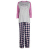 Pink Heart and Check Pyjama Set