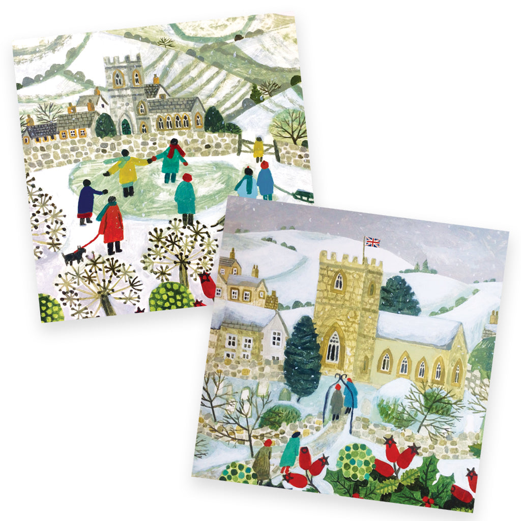 Help for Heroes Christmas Eve Christmas Cards Set