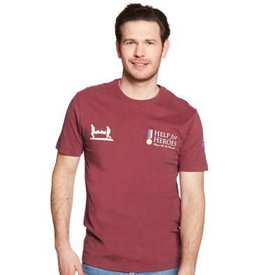 Help for Heroes Burnt Russet Classic T-shirt