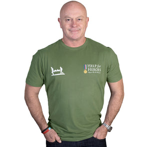 Help for Heroes Clover Green Classic T-shirt