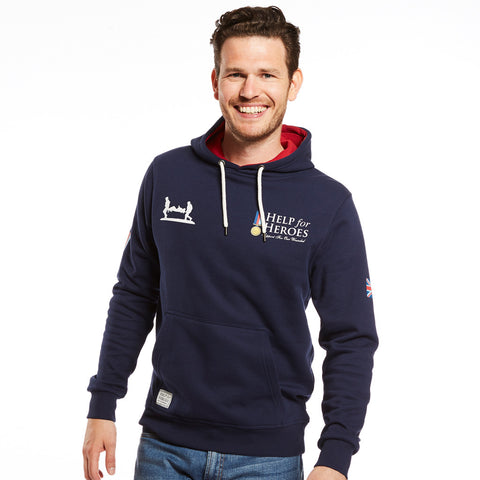 Help for Heroes Classic Hoody with Flag