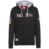 Help for Heroes Classic Black Zipped Hoody