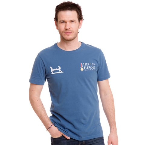 Help for Heroes Moonlight Blue Classic T-shirt