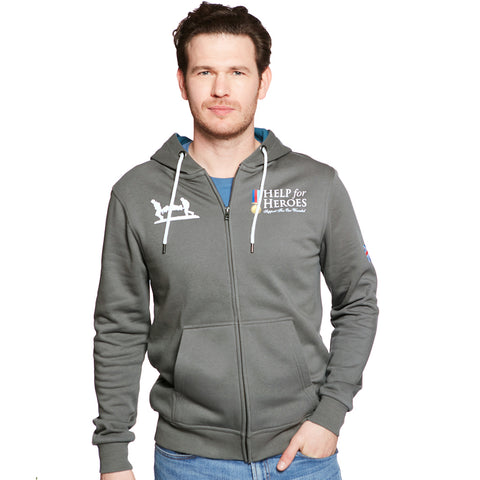 Help for Heroes Classic Pewter Hoody