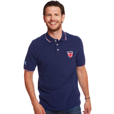 Help for Heroes Navy Clayton Polo