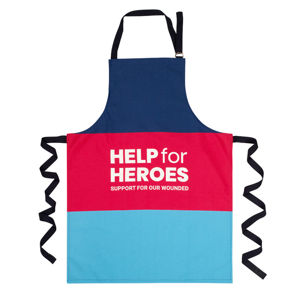 Help for Heroes Tri Colour Block Apron