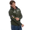 Help for Heroes Combat Green Classic Zipped Hoody