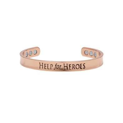 Help for Heroes Copper Therapy Bangle