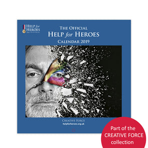 Help for Heroes Creative Force 2019 Month to View Calendar