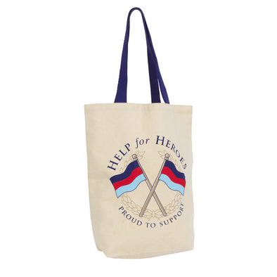 Help for Heroes Crossed Flags Cotton Bag