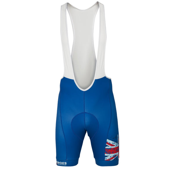 Help for Heroes Tri Colour Cycle Bib Shorts