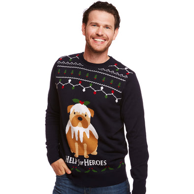 Dog Christmas Pudding Jumper