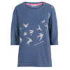 Help for Heroes Dusky Blue Swallows T-Shirt