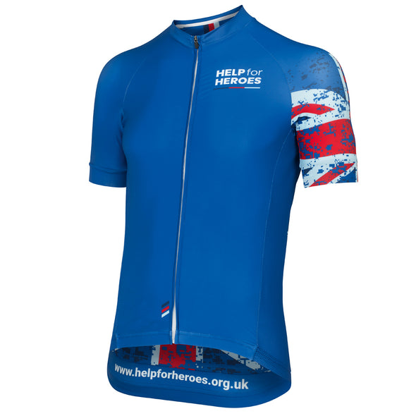 Help for Heroes Tri Colour Elite Cycle Jersey