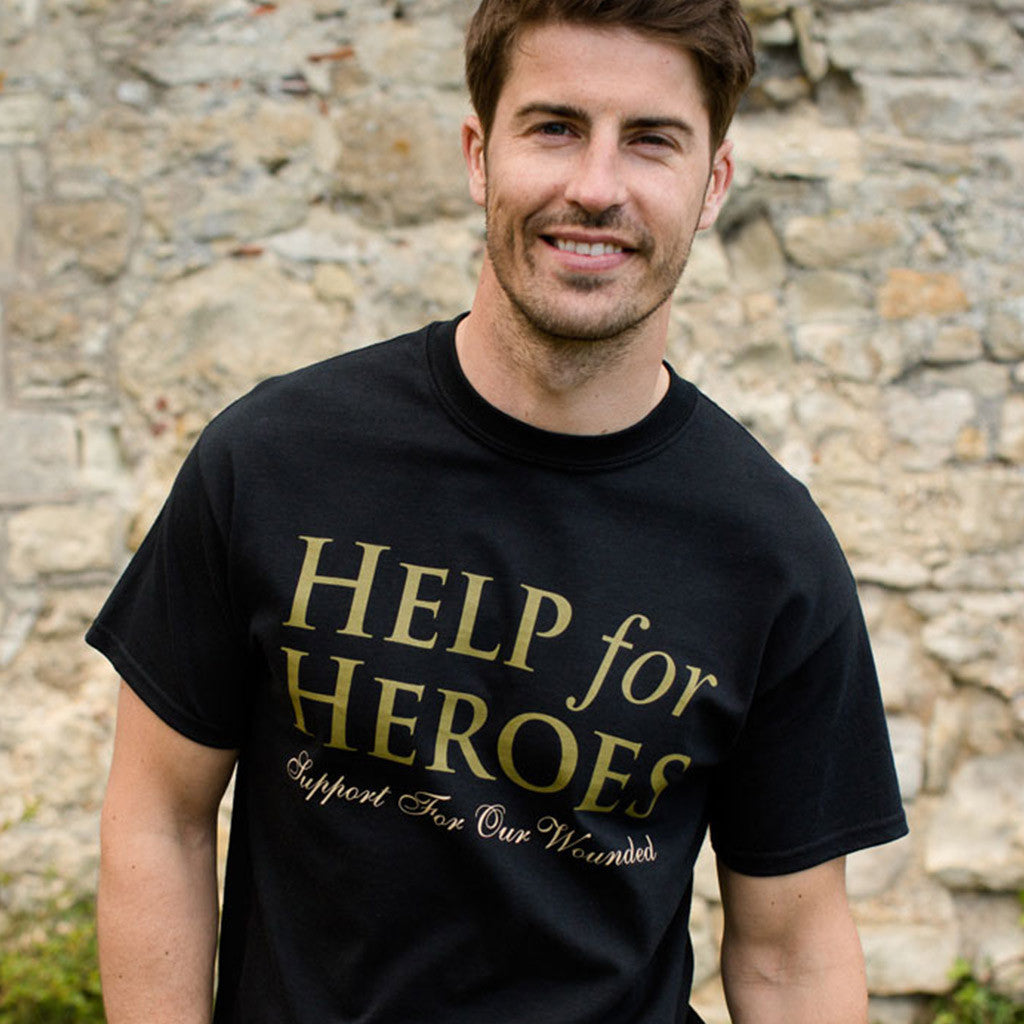 Help for Heroes Essential T-Shirt Black