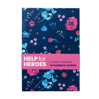Help for Heroes Flowers of Friendship Journal