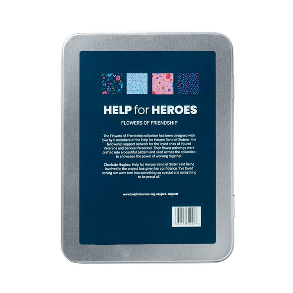 Help for Heroes Flowers of Friendship Stationary Set