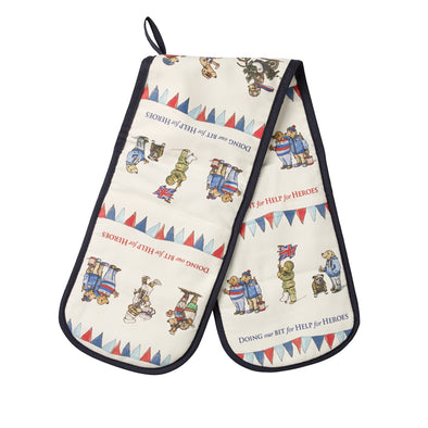 Help for Heroes Fundraising Bears Double Oven Glove