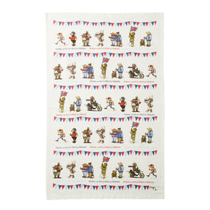 Help for Heroes Fundraising Bears Tea Towel
