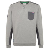 Help for Heroes Grey Marl Crew Neck Sweatshirt
