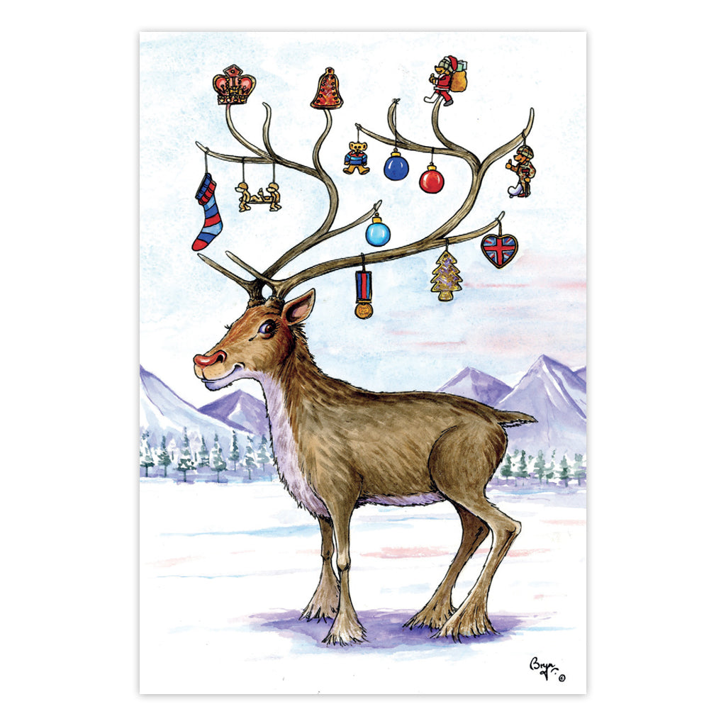 Help for Heroes Bryn Parry: Highly Decorated Christmas Cards - pack of 10