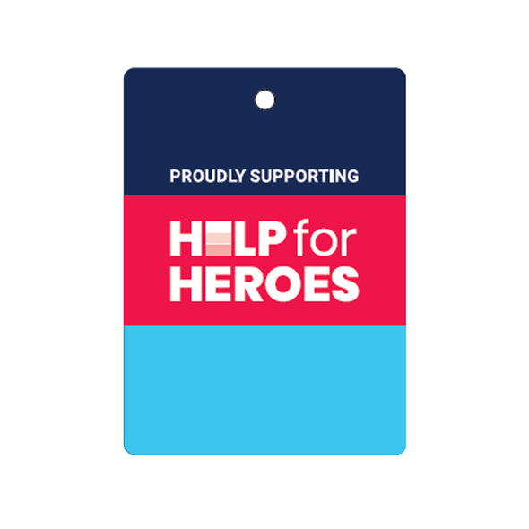 Help for Heroes Car Air Freshener