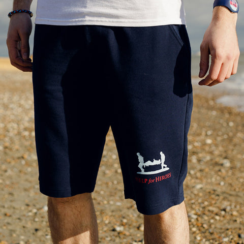 Help for Heroes Navy Intrepid Sweatshorts