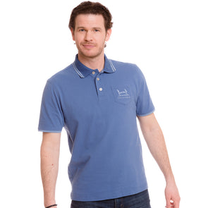 Help for Heroes Moonlight Blue Kendrew Pocket Polo