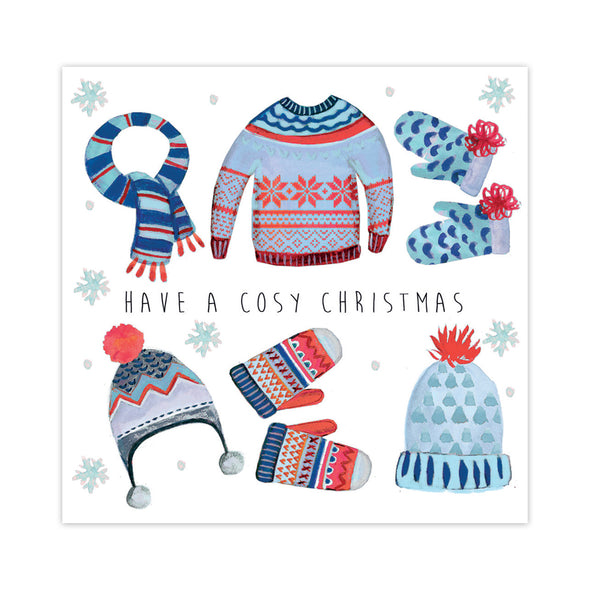Help for Heroes Knitted Winter Warmers Christmas Cards - pack of 10