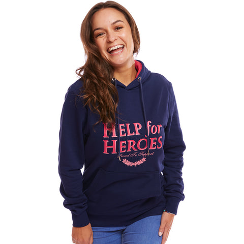 Help for Heroes Navy Marina Hoody