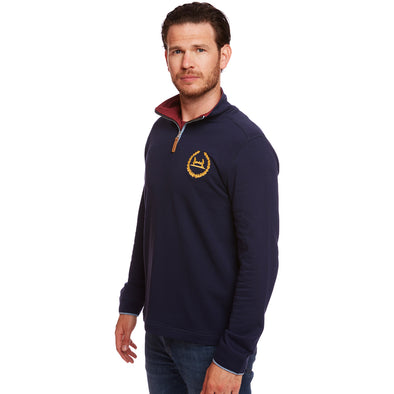 Help for Heroes Navy Malvern Zipped Sweatshirt