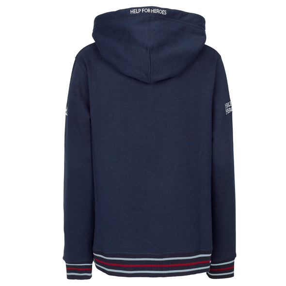 Help for Heroes Navy Signature Zipped Hoody