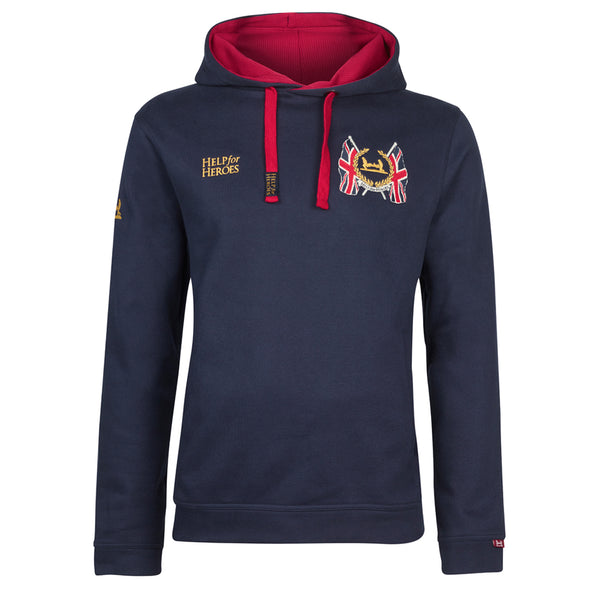 Help for Heroes Navy Stirling Pullover Hoody