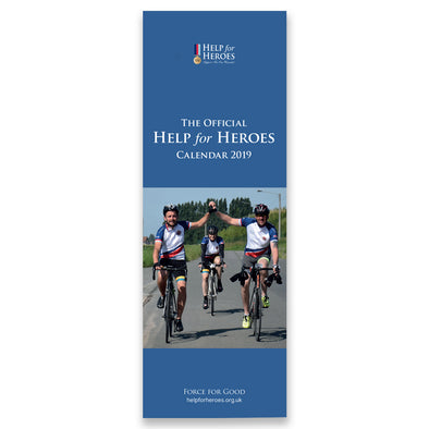 Help for Heroes Official 2019 Slimline Photographic Calendar