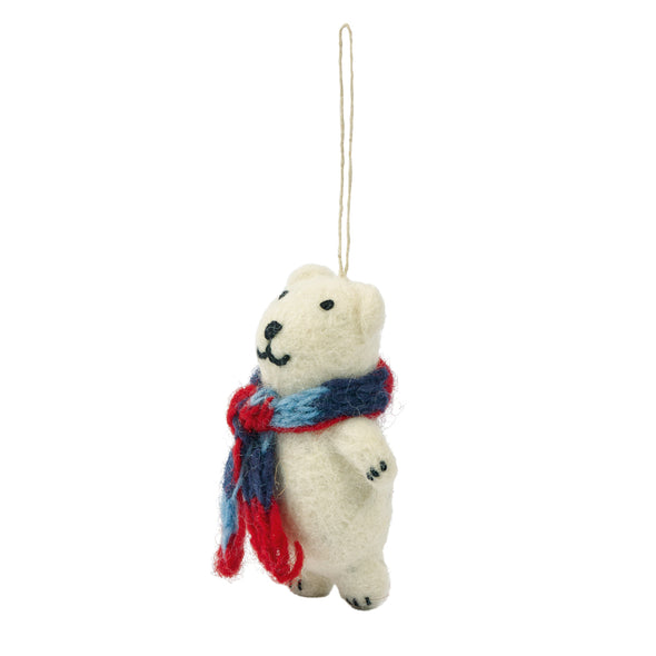 Polar Bear Tree Decoration
