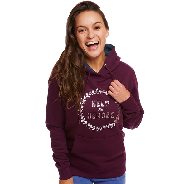 Help for Heroes Purple Melbury Hoody