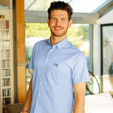 Help for Heroes Short Sleeve Redford Shirt Blue
